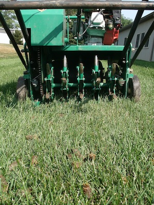 Lawn Aerations are One Step to a Fall Lawn Recovery