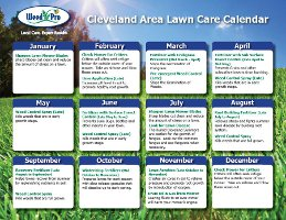 Thank You- Here's Your Lawn Care Calendar