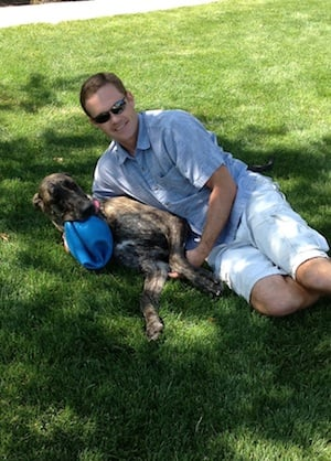 Dr. Jason Lamb & Indy (Weed Pro's Pet Safety Director)