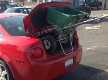 lawn care ina trunk