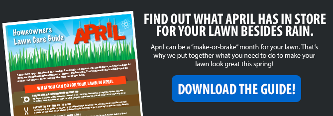 Free April Lawn Care Guide